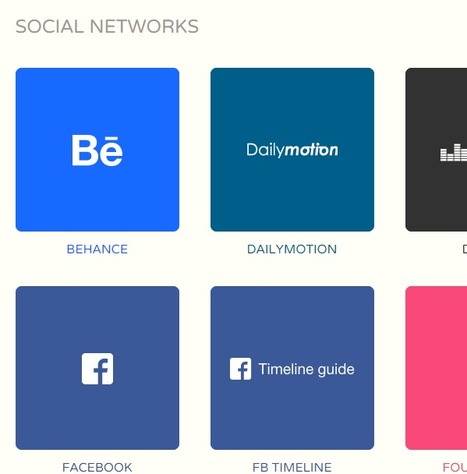 Guidelines for Social Channel Branding - Image Regs, More   Marketing simple   Scoop.it
