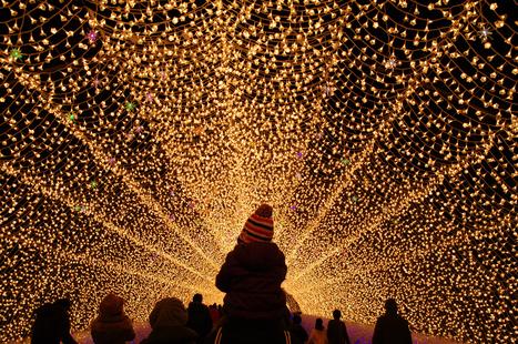 Les illuminations en hiver | JAPON youkoso | Scoop.it
