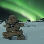 Aurora and the Inukshuk | The Blog's Revue by OlivierSC | Scoop.it