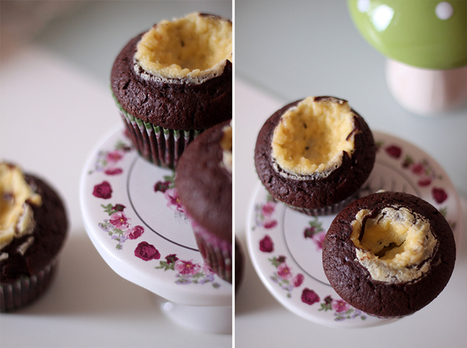 The world was a mess but...: Chocolate-Cheesecake-Muffins | Brownies, Muffins, Cheesecake & andere Leckereien | Scoop.it