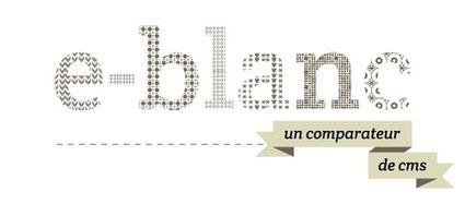 Comparateur en ligne de logiciels CMS : E-Blanc | Internet pour tous | Scoop.it