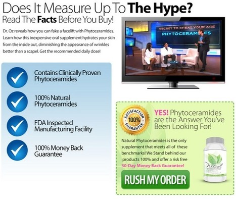 Natural Phytoceramides Review – Get Free Trial HERE!!! | I WANT TO USE  Natural Phytoceramides | Scoop.it