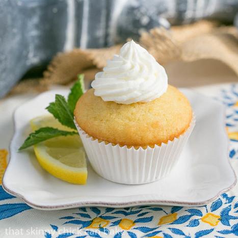 Limoncello Cupcakes | a Dorie Greenspan recipe | Food | Scoop.it