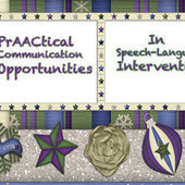 PrAACtical Communication Opportunities in SLP Sessions | Communication and travel | Scoop.it