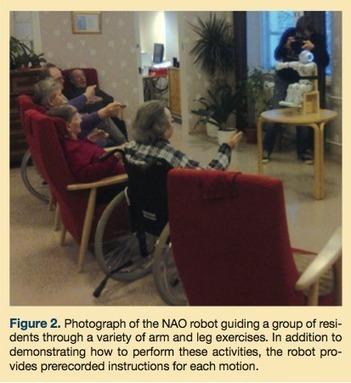 Robot-Guided Exercise Program for the Rehabilitation of Older Nursing Home Residents | Annals of Long Term Care | Australian e-health | Scoop.it