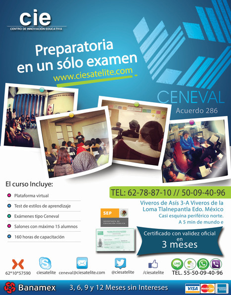 curso COMIPEMS | Preparatoria Abierta | Scoop.it