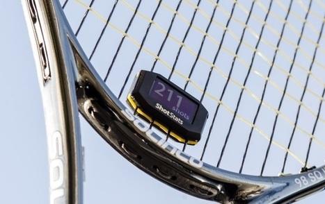 Shots Stats, l'antivibrateur connecté qui analyse ton tennis | Les dernières innovations digitales | Scoop.it