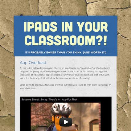 iPads In YOUR Classroom?! | Professional Development | Scoop.it