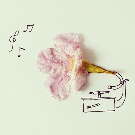17 Playful Doodles that Incorporate Everyday Objects | CAU | Scoop.it
