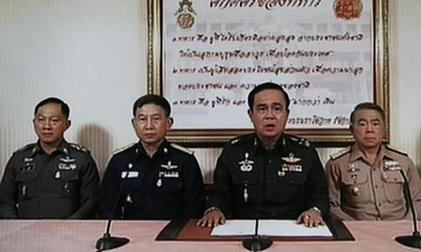 Thailand army chief confirms military coup in all but name; 19th coup since end of monarchy | The Political Side of Things | Scoop.it