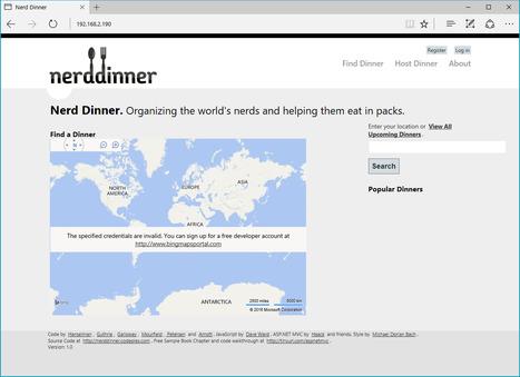 Dockerizing Nerd Dinner: Part 1, Running Legacy ASP.NET Apps in Docker | News de la semaine .net | Scoop.it