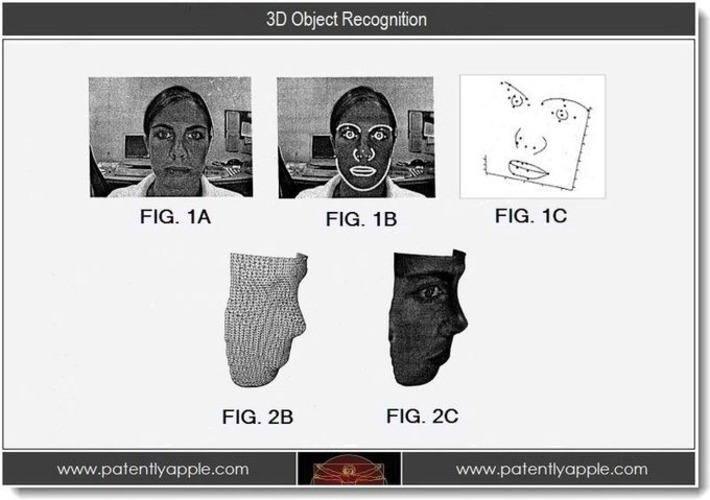 Big Patent Day for FileMaker & 3D Object Recognition - Patently Apple   Machinimania   Scoop.it
