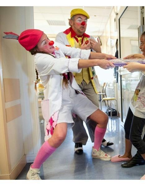 MiniBabybel soutient l'association LeRireMédecin   Clowns à l'hôpital   Scoop.it