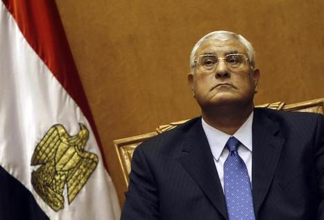 Le président par intérim a ratifié la loi électorale pour la prochaine présidentielle | Égypt-actus | Scoop.it