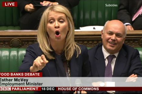 'Wake up and serve the coffee' is the answer to unemployment from over-promoted Tory Esther McVey | Welfare, Disability, Politics and People's Right's | Scoop.it