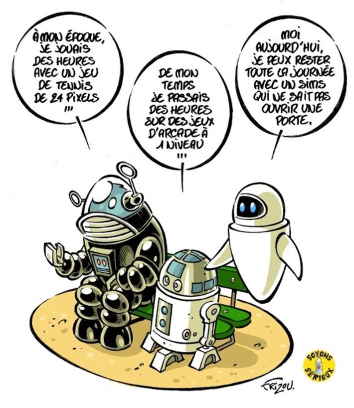 La France, un pays de geeks   Baie d'humour   Scoop.it