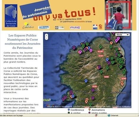 Les usagers et les animateurs des Espaces Publics Numériques de Corse mobilisés comme passeurs de mémoire pour les Journées du Patrimoine | Animation dans les EPN | Scoop.it