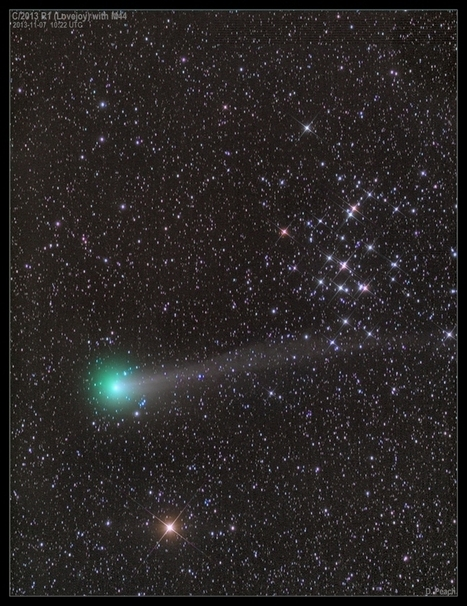 APOD: 2013 November 9 - Comet Lovejoy with M44 | tecnologia s sustentabilidade | Scoop.it