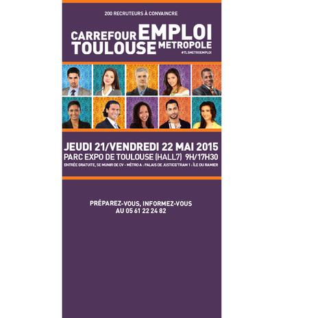 Carrefour Emploi Toulouse M&eacute;tropole<br/>les 21 et 22 mai | Toulouse La Ville Rose | Scoop.it