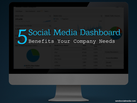 5 Social Media Dashboard Benefits Your Company Needs   Social Media How To   Scoop.it