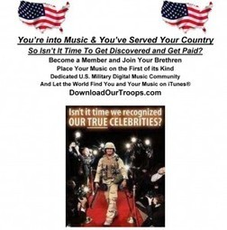 DownloadOurTroops.com | A U.S. Military Music Community for iTunes© | Inspirational and more | Scoop.it