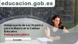 Anteproyecto de Ley Orgánica para la Mejora de la Calidad Educativa, Revista de Educación 2.0 « | Educación a Distancia y TIC | Scoop.it