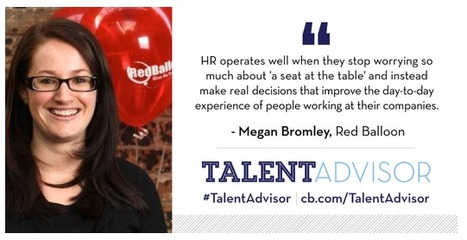 Global Talent Advisor Profile: Megan Bromley | The RedBalloon W(rap) October | Scoop.it