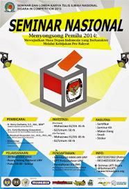 "SEMINAR NASIONAL ""Menyongsong Pemilu 2014 : Mewujudkan Masa Depan Indonesia yang Berkarakter Melalui Kebijakan Pro Rakyat""   service-ac   Scoop.it"