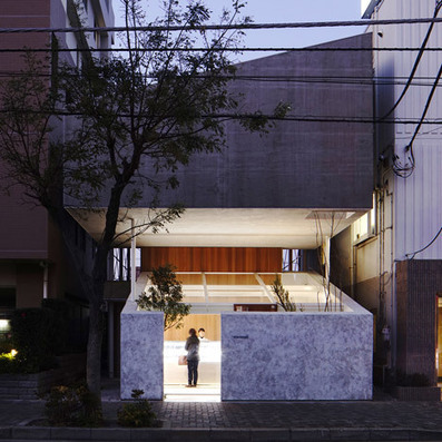 Yuko Nagayama floats an apartment above a patisserie in Japan | Eye candy | Scoop.it