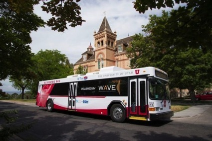 Wireless Electric Buses Developed In Utah | Sustain Our Earth | Scoop.it
