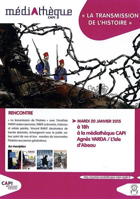 Conférence sur la guerre 14-18 | Bande dessinée et illustrations | Scoop.it
