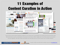 11 Examples of Content Curation in Action | kleckerlabor | Scoop.it