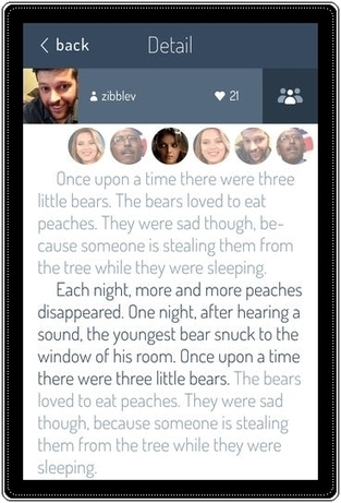 Una app para crear historias colaborativas | Data + Narratives | Scoop.it