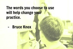 Change the practice by changing the words! | What Did i Learn Today? | Education | Scoop.it