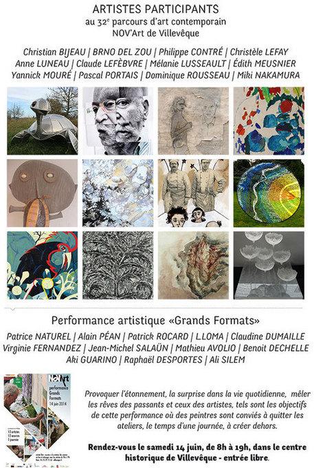 NOV'Art - 32e édition - Villevêque | Villevêque, l'art de vivre au naturel | Scoop.it