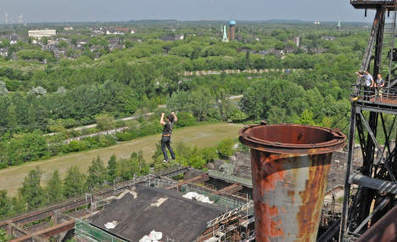 Ruhr ruins invite tourists for highwire hijinks - The Local | A Geography Scrapbook | Scoop.it