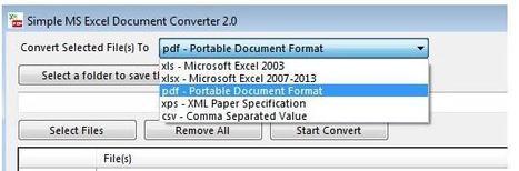 Conversion en masse de tableaux Excel, Simple MS Excel Document Converter | Time to Learn | Scoop.it