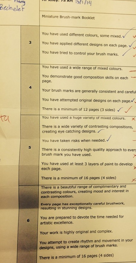 Using Critique to develop an ethic of excellence | Where's your head at? | Marking and Feedback | Scoop.it