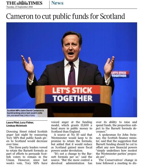 We told you so #2   scottish referendum   Scoop.it