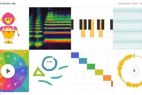 Chrome Music Lab : l'expérience de Google pour apprendre la musique dans son navigateur | Freewares | Scoop.it