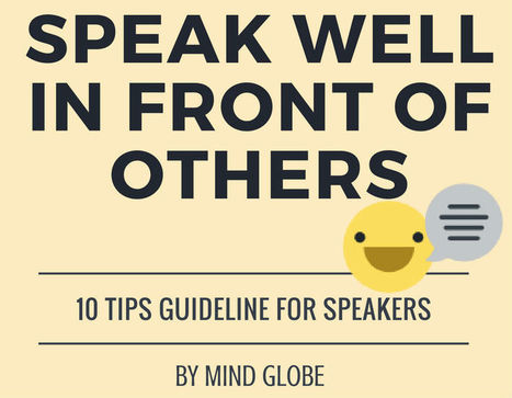 How to Speak Well in front of Others | Education | Scoop.it