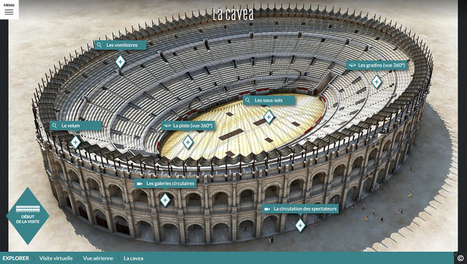 Un Webdoc pour les Arènes de Nîmes : Art Graphique & Patrimoine réalise la modélisation 3D de l'amphithéâtre romain - Actualités Pro de Museumexperts | Digital Creativity & Transmedia | Scoop.it
