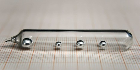 Este interesante metal líquido podría cambiar el mundo de la robótica | Teknologia DBH eta Batxillergoan | Scoop.it