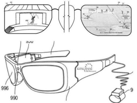 Microsoft Patent on Augmented Reality Glasses | Quantified-Self & Gamification | Scoop.it