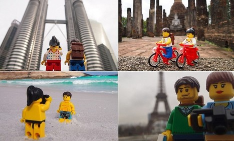 Plastic fantastic: The LEGO couple who've travelled all over the globe | Everything from Social Media to F1 to Photography to Anything Interesting | Scoop.it