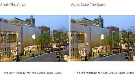 Apple bids farewell to 'Apple Store' in a bid to rebrand retail shops | Retailtainment | Scoop.it
