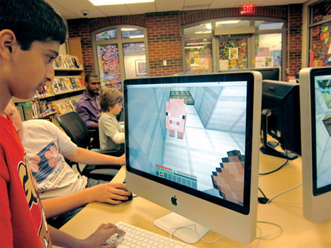 Our Public Library Minecraft Community | School libraries for information literacy and learning! | Scoop.it
