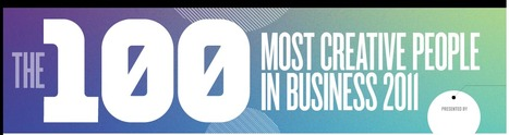 Most Creative People 2011 | Fast Company | designit | Scoop.it