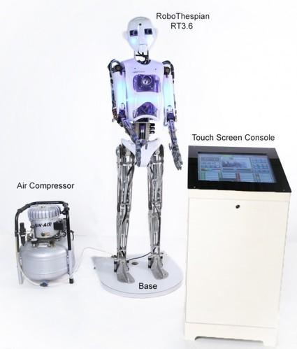 RoboThespian & Robot Pepper: Humanoids robotics | Aneddotica Magazine | Aneddotica Magazine | Scoop.it