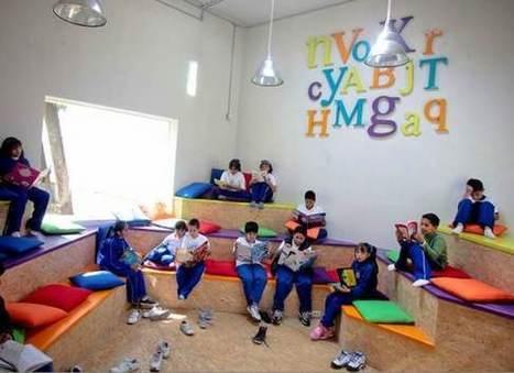 Una biblioteca a la altura de los niños | Ciudadanos en Red :: Metrópoli 2025 | Niños, cuentos y literatura infantil | Scoop.it